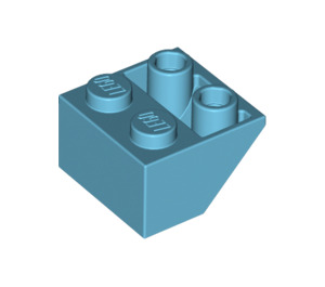 LEGO Medium Azure Slope 2 x 2 (45°) Inverted (3660)