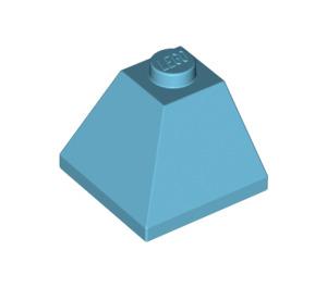 LEGO Medium Azure Slope 45° 2 x 2 (3045)