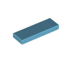 LEGO Medium Azure Tile 1 x 3 (63864)
