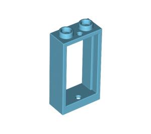 LEGO Medium Azure Window 1 x 2 x 3 without Sill (60593)