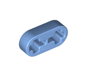 LEGO Medium Blue Beam 2 x 0.5 with Axle Holes (41677)