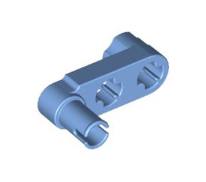 LEGO Medium Blue Beam 3 x 0.5 with Knob and Pin (33299)