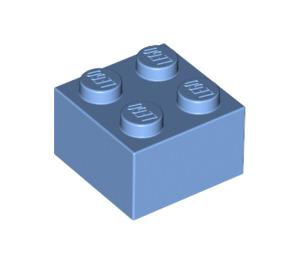 LEGO Medium Blue Brick 2 x 2 (3003)