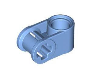 LEGO Medium Blue Cross Block 90° 1 x 2 (Axle/Pin) (6536)