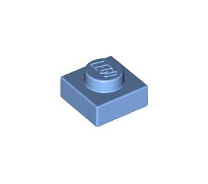 LEGO Medium Blue Plate 1 x 1 (3024)