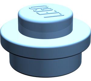 LEGO Medium Blue Plate 1 x 1 Round