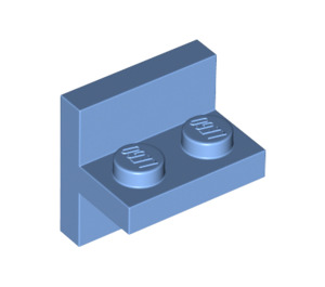 LEGO Medium Blue Plate 1 x 2 with Vert. Tube (41682)