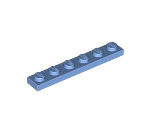 LEGO Medium Blue Plate 1 x 6 (3666)