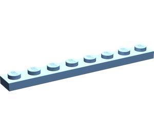 LEGO Medium Blue Plate 1 x 8
