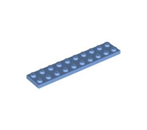 LEGO Medium Blue Plate 2 x 10 (3832)