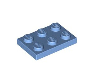 LEGO Medium Blue Plate 2 x 3 (3021)