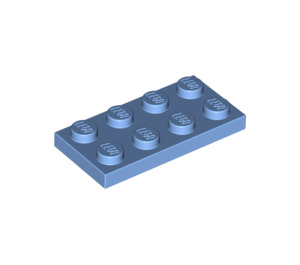 LEGO Medium Blue Plate 2 x 4 (3020)