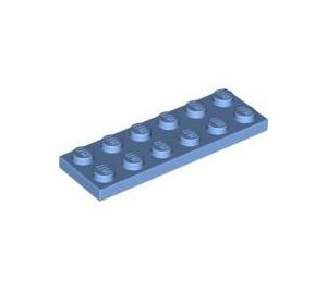 LEGO Medium Blue Plate 2 x 6 (3795)