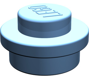LEGO Medium Blue Round Plate 1 x 1