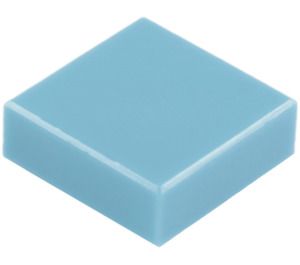 LEGO Medium Blue Tile 1 x 1 with Groove (3070)