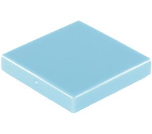 LEGO Medium Blue Tile 2 x 2 with Groove (3068)