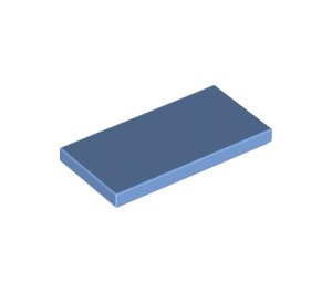 LEGO Medium Blue Tile 2 x 4 (87079)