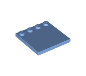 LEGO Medium Blue Tile 4 x 4 with Studs on Edge (6179)