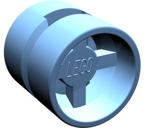 LEGO Medium Blue Wheel Rim Wide Ø11 x 12 with Round Hole (6014)