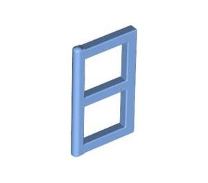 LEGO Medium Blue Window 1 x 2 x 3 Pane (3854)