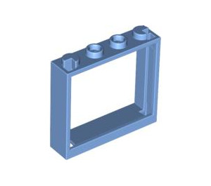 LEGO Window 1 x 4 x 3 without Shutter Tabs (60594)