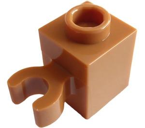 LEGO Chair mate Brique 1 x 1 avec Verticale Agrafe (Clip ouvert en O, goujon creux) (60475 / 65460)