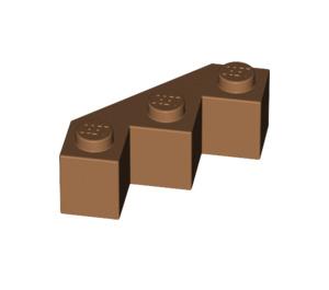 Lego NEW medium dark flesh 1 x 3 standard bricks   Lot of 5