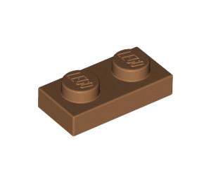 LEGO Medium Dark Flesh Plate 1 x 2 (3023)