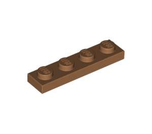 LEGO Medium Dark Flesh Plate 1 x 4 (3710)