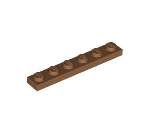 LEGO Medium Dark Flesh Plate 1 x 6 (3666)