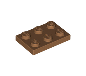 LEGO Medium Dark Flesh Plate 2 x 3 (3021)