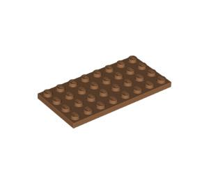 LEGO Medium Dark Flesh Plate 4 x 8 (3035)