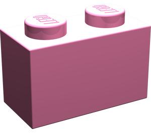 LEGO Medium Dark Pink Brick 1 x 2 (3004)