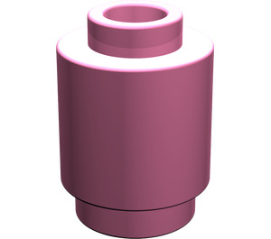 LEGO Medium Dark Pink Brick Round 1 x 1 with Open Stud (3062)