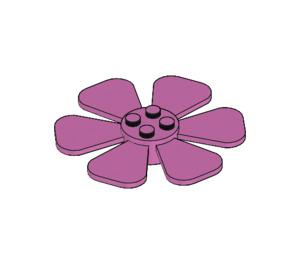 LEGO Medium Dark Pink Flower/propeller Ø61,84 (30078)