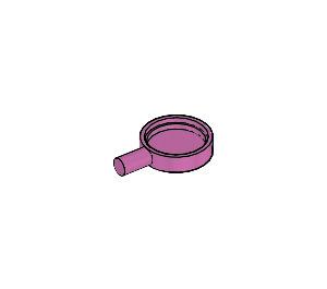 LEGO Medium Dark Pink Minifig Frypan (4528)