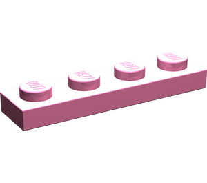 LEGO Medium Dark Pink Plate 1 x 4 (3710)