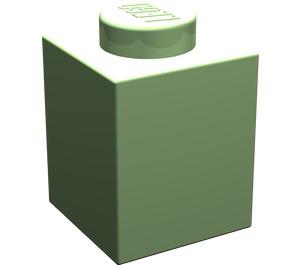 LEGO Medium Green Brick 1 x 1 (3005)