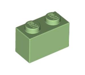 LEGO Medium Green Brick 1 x 2 (3004)
