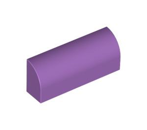 LEGO Medium Lavender Brick 1 x 4 x 1.33 with Curved Top (6191 / 10314)