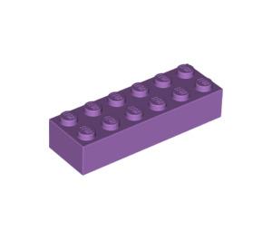 LEGO Medium Lavender Brick 2 x 6 (44237)