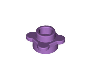 LEGO Medium Lavender Plate 1 x 1 Round with Tabs (28573 / 33291)