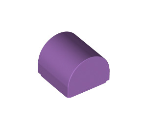 LEGO Medium Lavender Plate 1 x 1 with Rounded Top (49307)