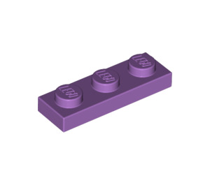 LEGO Medium Lavender Plate 1 x 3 (3623)