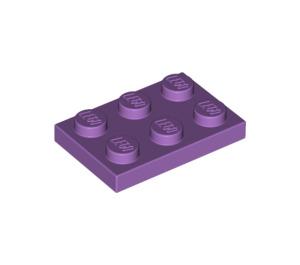 LEGO Medium Lavender Plate 2 x 3 (3021)