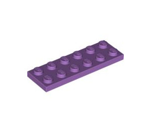 LEGO Medium Lavender Plate 2 x 6 (3795)