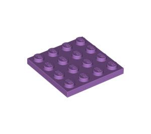 LEGO Medium Lavender Plate 4 x 4 (3031)