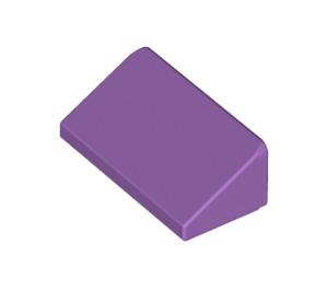 LEGO Medium Lavender Slope 1 x 2 (31°) (85984)