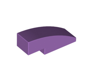 LEGO Medium Lavender Slope 1 x 3 Curved (50950)