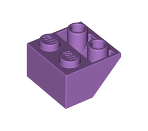 LEGO Medium Lavender Slope 45° 2 x 2 Inverted (3660)